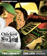 electro chicken swing flyer